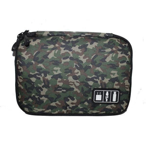 High Grade Nylon Waterproof Electronics Organizer - Camouflage green2 - Bags