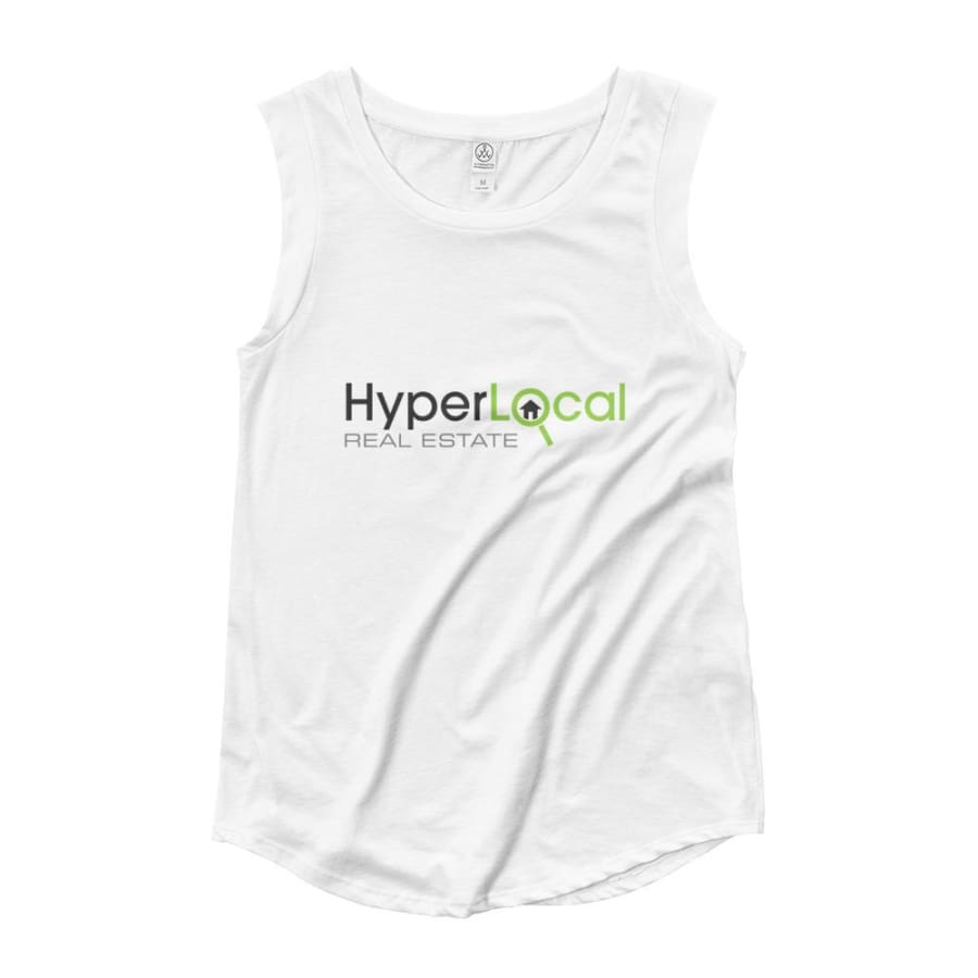 HyperLocal Real Estate Ladies Cap Sleeve T-Shirt - S