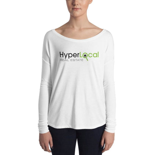 HyperLocal Real Estate Ladies Long Sleeve Tee - S