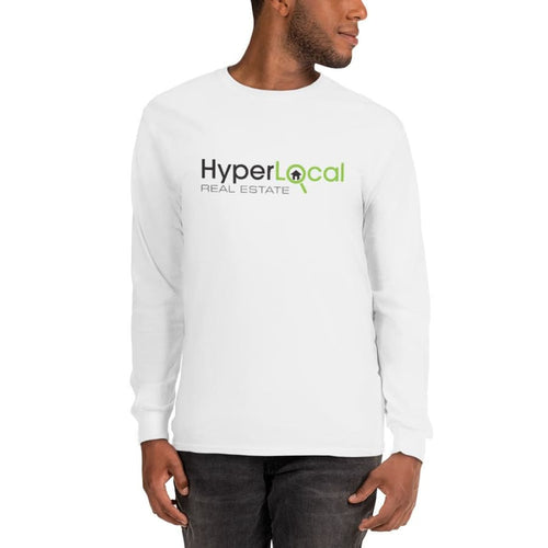 HyperLocal Real Estate Long Sleeve T-Shirt - White / S