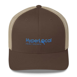 HyperLocal Real Estate Trucker Cap - Brown/ Khaki