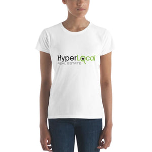 HyperLocal Real Estate Womens Short Sleeve T-Shirt - S