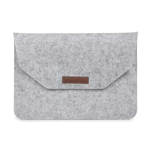 Laptop & Tablet Protector Case Sleeve - 11 or 12 inch Gray - Bags