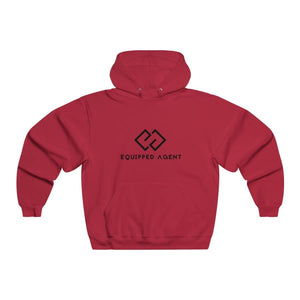 Mens NUBLEND® Hooded Sweatshirt - True Red / S - Hoodie