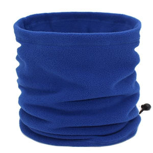 Mens Winter Scarf Ring - blue - Scarf