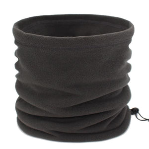 Mens Winter Scarf Ring - gray - Scarf