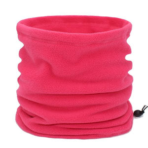 Mens Winter Scarf Ring - pink - Scarf