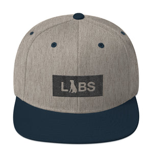 Black Block LABS Snapback Hat