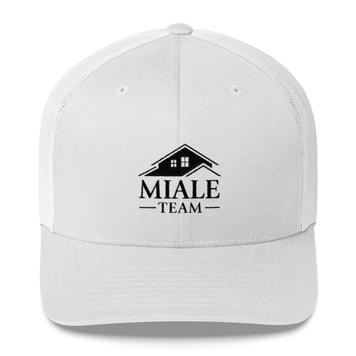 Miale Team Trucker Cap (Black logo)