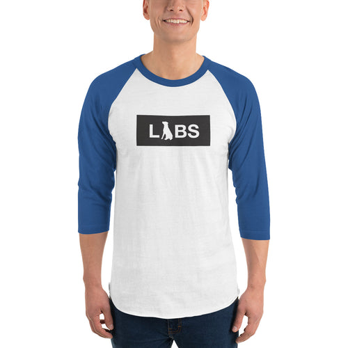 Black Block LABS 3/4 Sleeve Raglan Shirt
