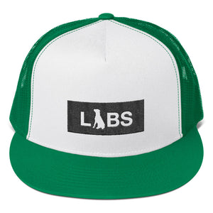 Black Block LABS 5-Panel Trucker Cap