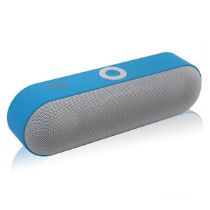 Portable Bluetooth Stereo Speaker - Blue - Technology