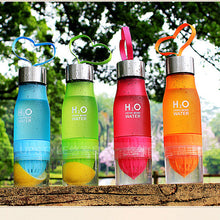 650ml Water Bottle H20 Fruit Infusion Bottle