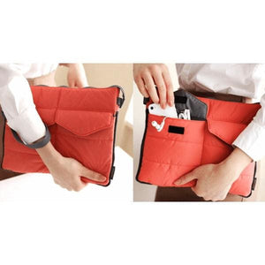 Slim Tablet Bag - Coral - Bags