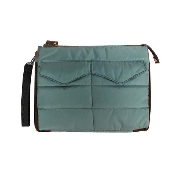 Slim Tablet Bag - Dark Green - Bags