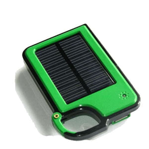 Smartphone Clip-On Solar Charger - Assorted Colors - Green - Phones