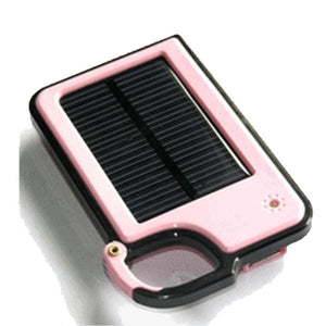 Smartphone Clip-On Solar Charger - Assorted Colors - Pink - Phones