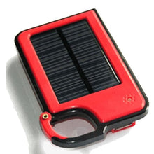 Smartphone Clip-On Solar Charger - Assorted Colors - Red - Phones