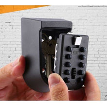 Wall Mounted Weather Resistant Key Lock Box - Storage