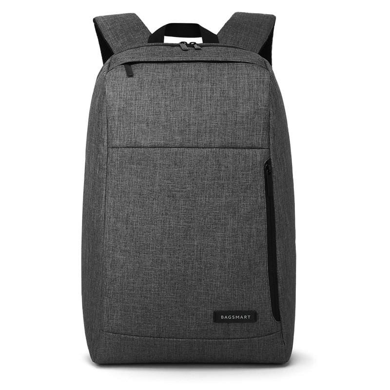 Water Resistant Business Laptop Backpack - Black - Bags