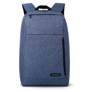 Water Resistant Business Laptop Backpack - Blue - Bags