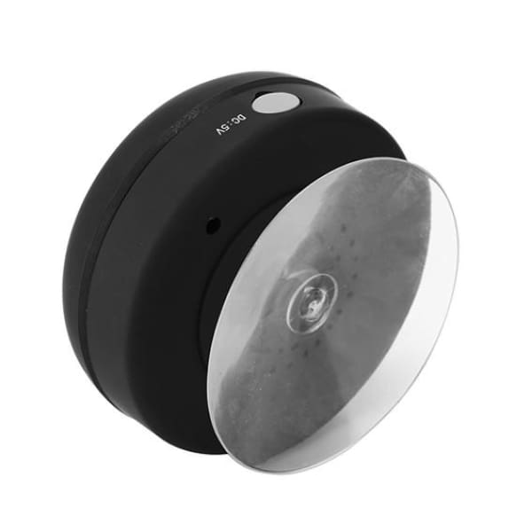 Waterproof Shower Bluetooth Audio Speaker - black - Technology
