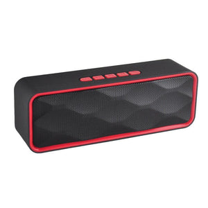 Wireless Bluetooth Portable Speaker - Red