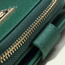 Womens Compact Purse Clutch Wallet - Green - Wallets