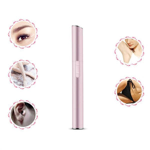 Womens Portable Mini Facial Trimmer - Tools