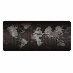 World Map Table Top Mouse Pad Desk Mat - Computer