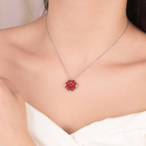 Heart Crystal Necklace - uniquelebal