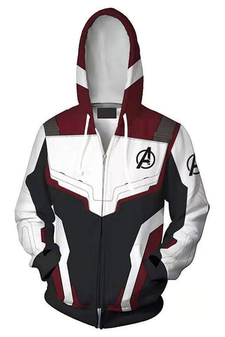 Avengers  Endgame Costume Hoodies - uniquelebal