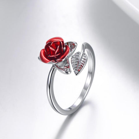 Resizable Rose Ring - uniquelebal