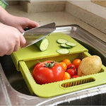 Cut & Drain Chopping Board - uniquelebal