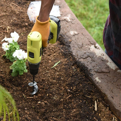 Garden Spiral Hole Drill Planter - uniquelebal