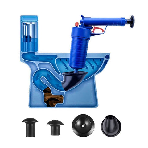 Plunger Opener Cleaner Kit - uniquelebal