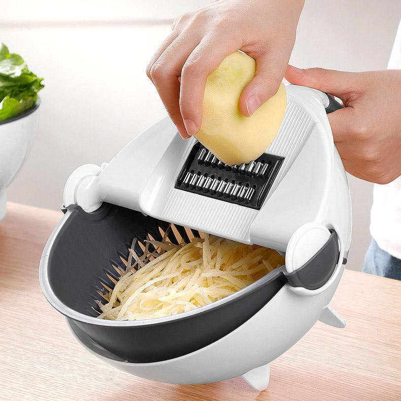 Smart Chopping and Strainer Bowl - uniquelebal