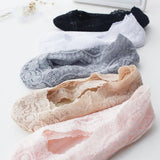 Lace Scalloped Socks - uniquelebal