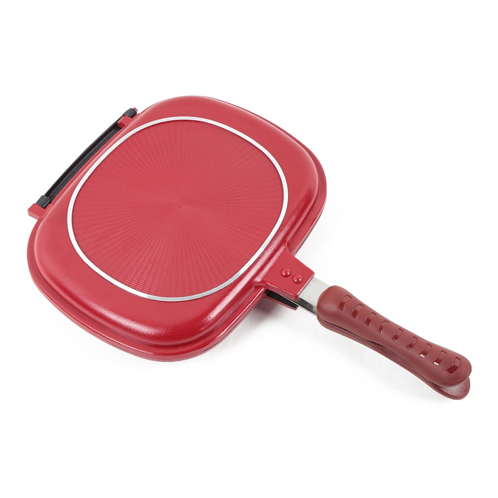 Double Sided- Multi Purpose Frying Pan - uniquelebal