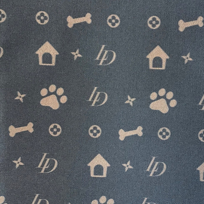 Louis Dog Bandana for dogs reversible