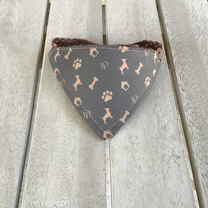 Louis Dog Chihuahua Bandana for dogs reversible