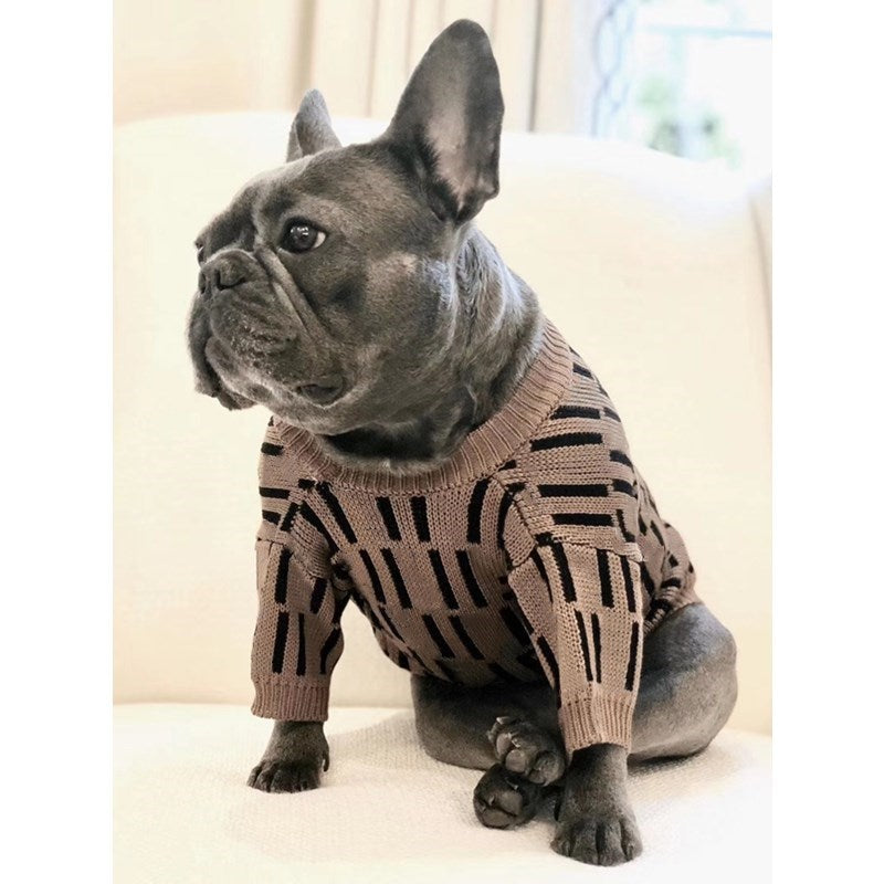 Knitted High Fashion Sweater for small to medium sized dogs