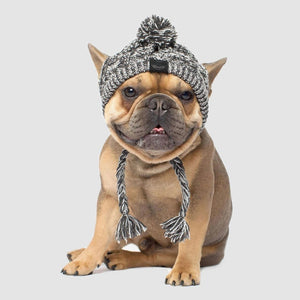 Winter Pet Dog Hat Cap Christmas Warm Windproof Pet Hats Woolen Dog Accessories For Small Medium Dogs Hat French Bulldog Outdoor