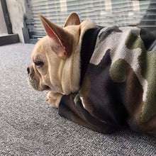 Load image into Gallery viewer, Fashion Pet Dog Camouflage Sweater Jumper Clothes Winter Warm Hoodie Jacket Coat Apparel for Small Medium Dogs Corgi Pug