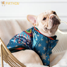 Load image into Gallery viewer, FATHIN French Bulldog Clothes Dog Hoodie Luxurious Adidog Warm Sport Retro Dog Hoodies Pet Clothes S-XL