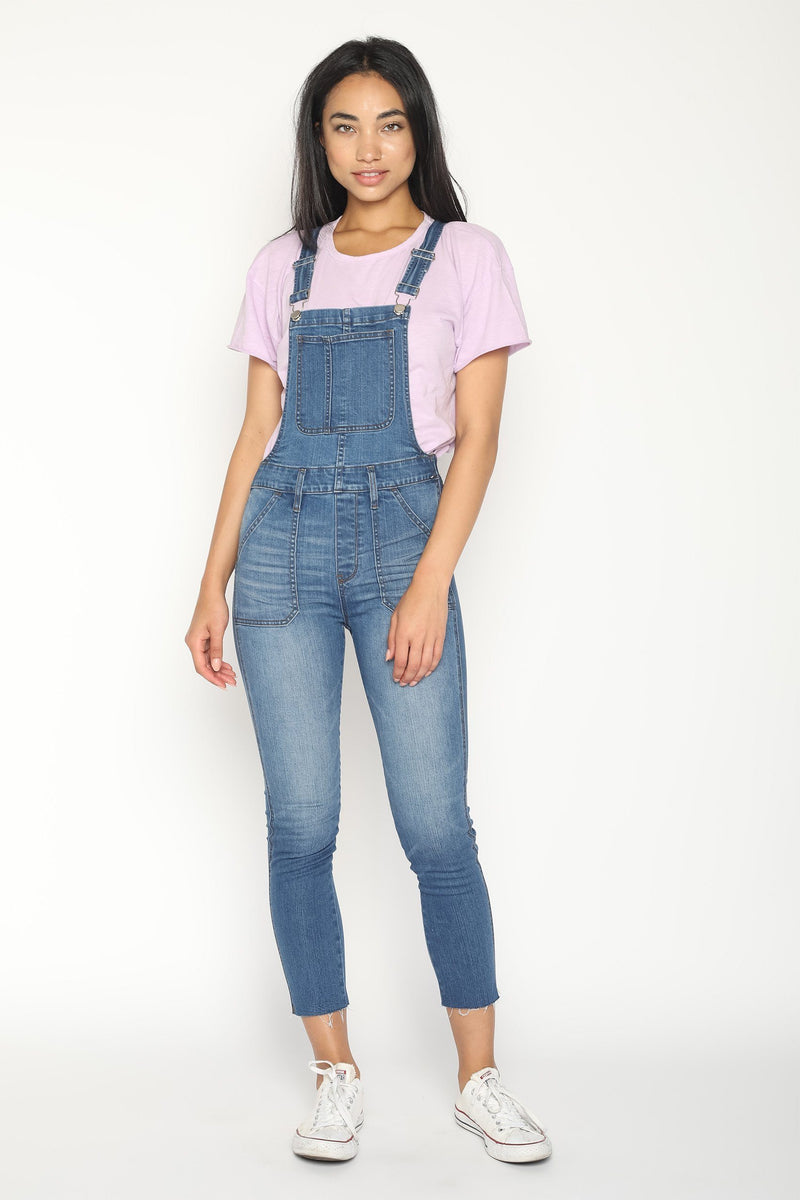 womens jean overalls