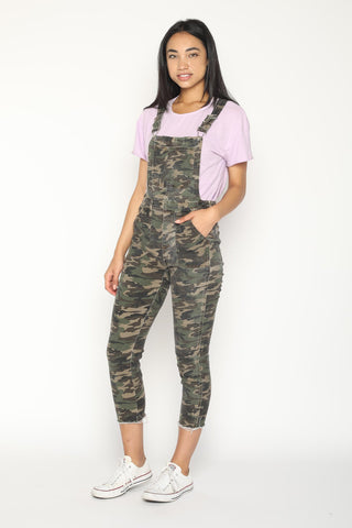 Womens Denim Overalls