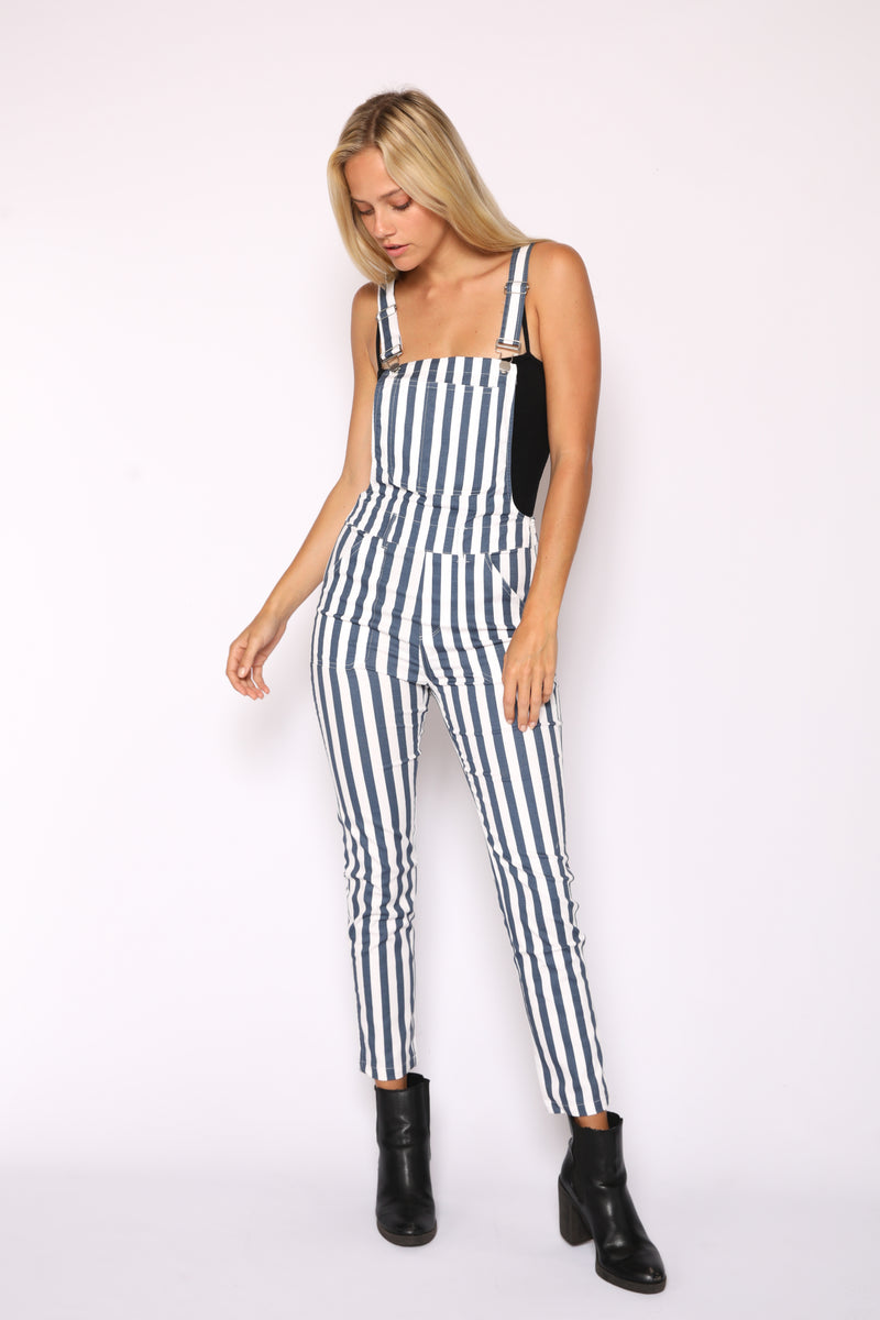 Womens Nautical Overalls