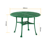 Orion Outdoor Set of 1Table with 3Chairs