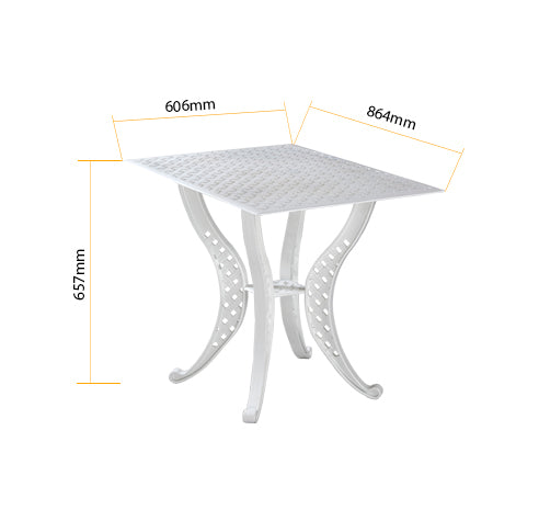"Orion TRT4  <br><span style=""font-size:16px;"">Rectangle table with 4 weave legs</span>"